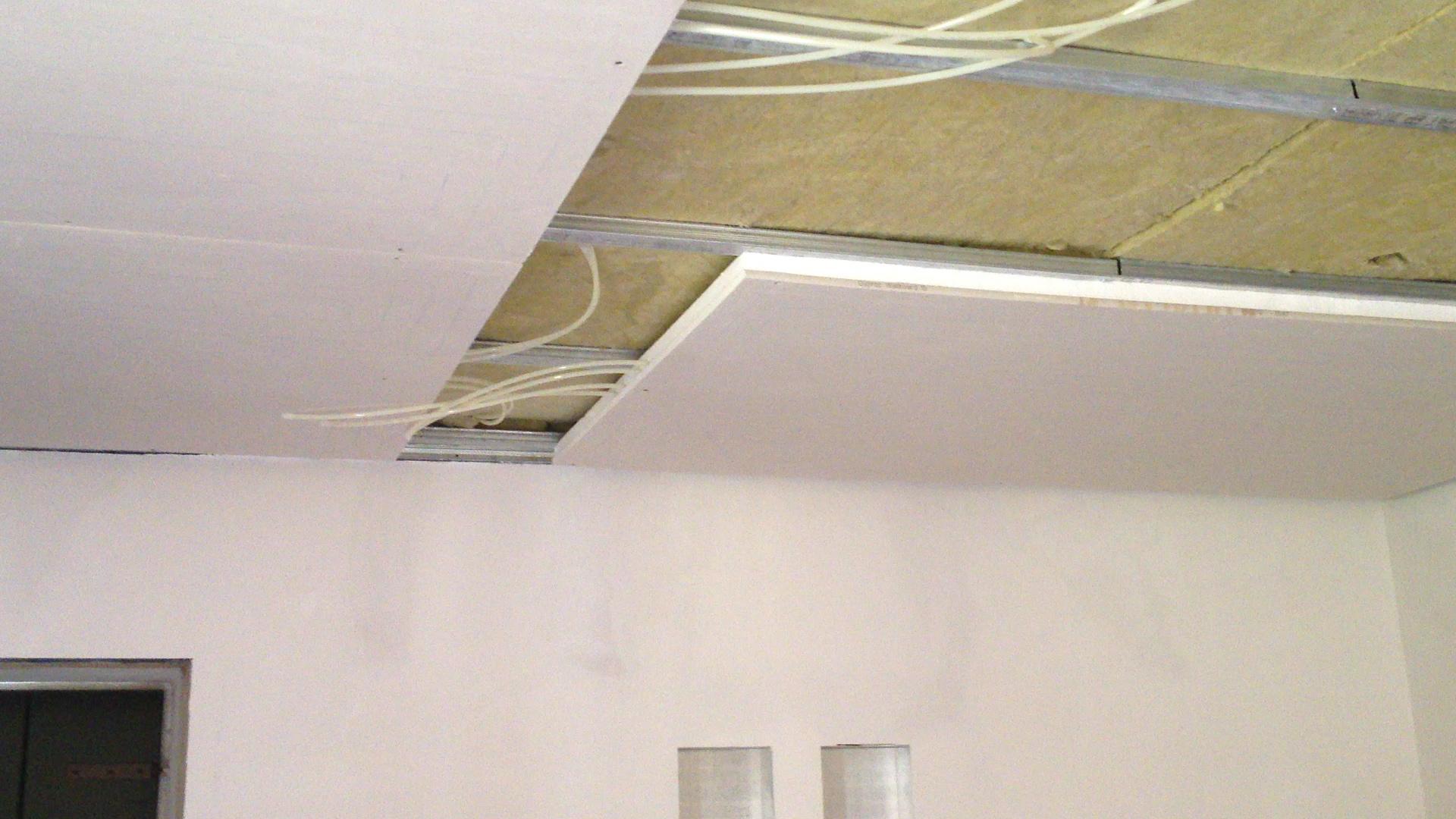 L impianto di riscaldamento a soffitto henco cappellotto